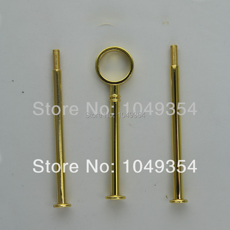wholesale So the new gold ring shape bracket is suitable for wedding, party cake home decor fondant cake decorating tools