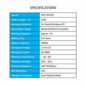 Image 2 - 2 قطعة TECTINTER بلوتوث اللاسلكية برو تحكم ل NS غمبد Joypad البعيد ل نينتندو التبديل برو تحكم ل ماندو التبديل