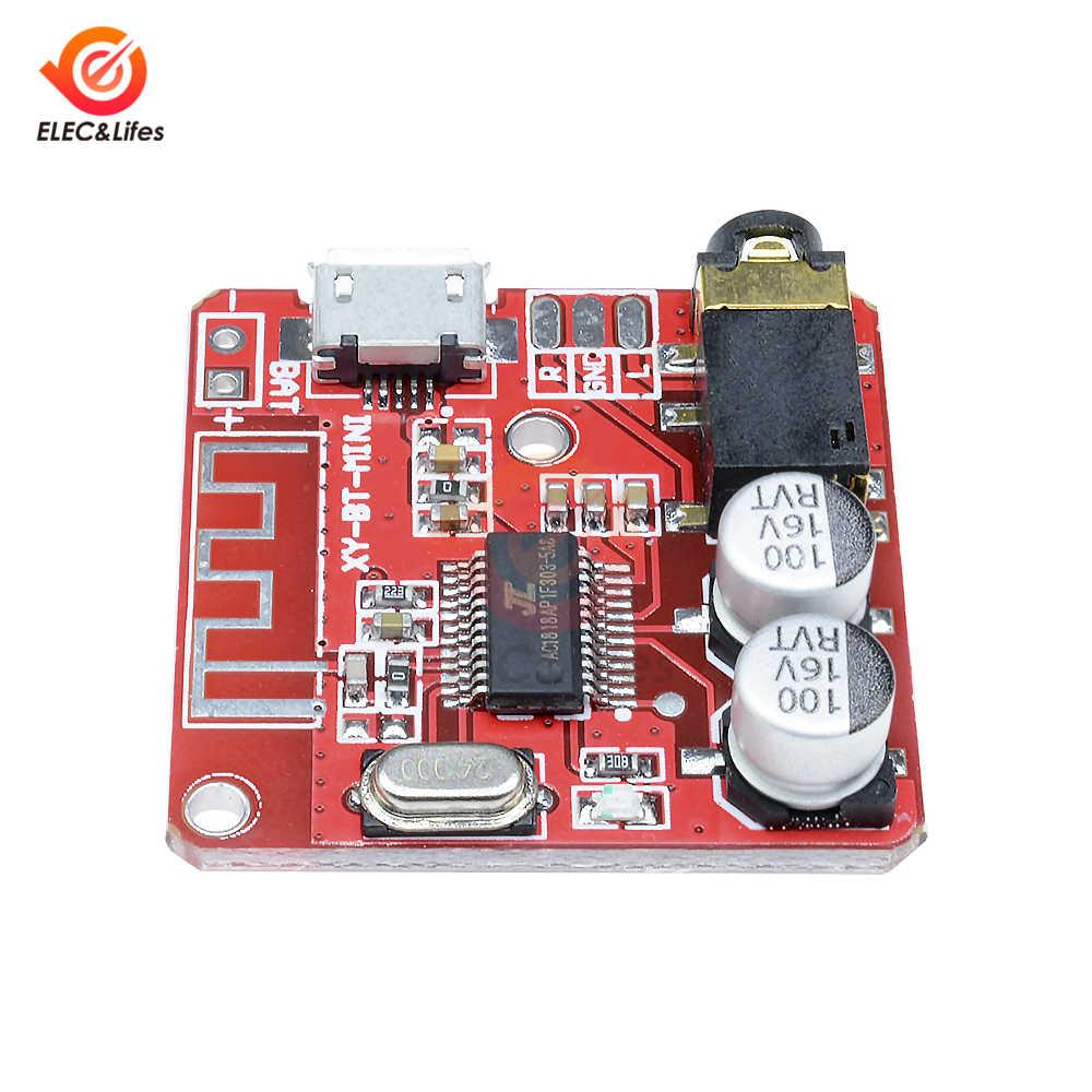 ミニ MP3 Bluetooth オーディオデコーダボードロスレス車のスピーカーステレオアンプボード修正された Bluetooth V4.1 V4.2 受信機モジュール