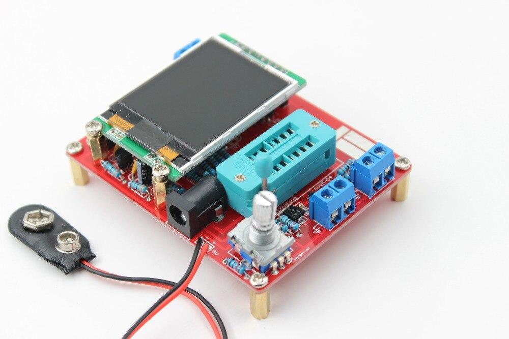 Multifunktionale Tester GM328 Transistor Tester Diode Kapazität ESR Spannung Frequenzmesser PWM Rechtecksignalgenerator