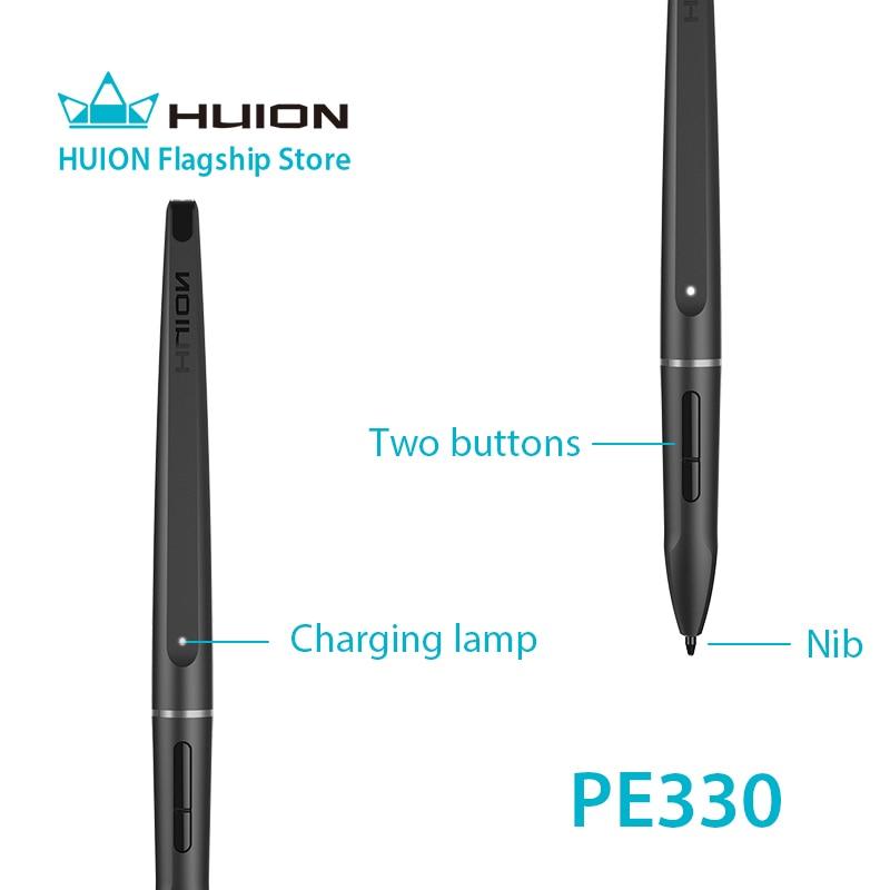 Huion Rechargeable Pen PE330 for GT-191/GT-221 PRO/GT-156HD/GT-220  V2(8192)/GT-156HD V2