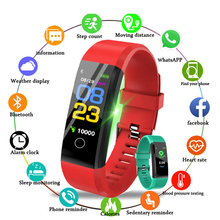 New Smart Watch Men Women Heart Rate Monitor Blood Pressure Fitness Tracker Smartwatch Sport Watch for Ios Android Phone PK M3 smart watch men women blood pressure heart rate monitor fitness sports tracker smartwatch ip68 connect ios android pk dz09 q18