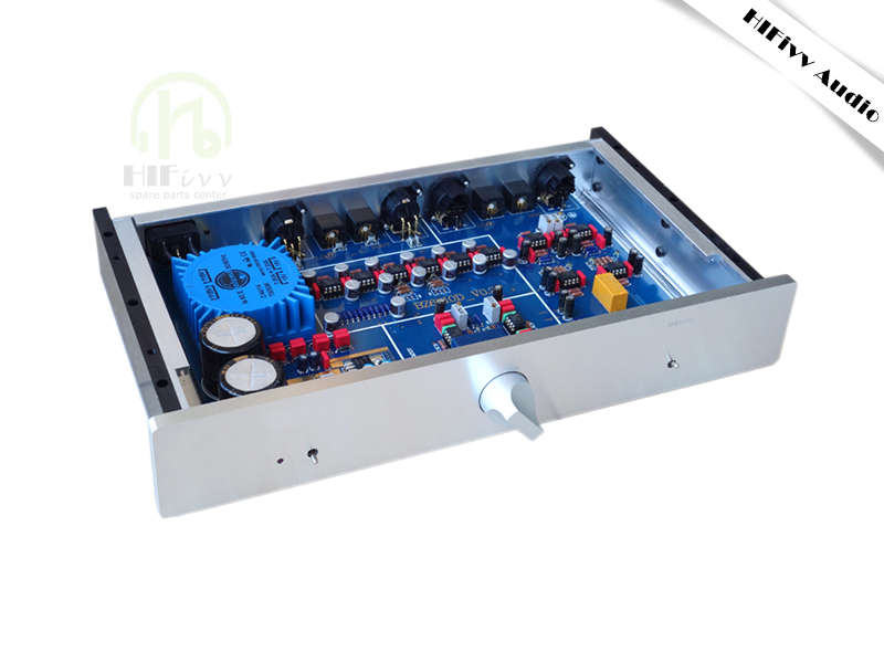 Hifivv audio MBL6010D Preamplifier Preamp Pre-amplifiers RCA XLR Output AD797 or JRC5534 hifi audio amplifier 110/220V reference goldmund 27 preamplifier pre amp preamp pre amplifier pre amplifier rca output real good sound the latest version
