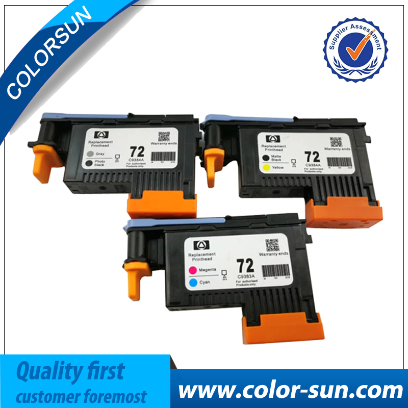 Refurbished C9380A C9384A C9383A For HP 72 Original Printhead For HP72 for HP T770 T790 T1120 T1200 T1300 T620 T610 Printer Head