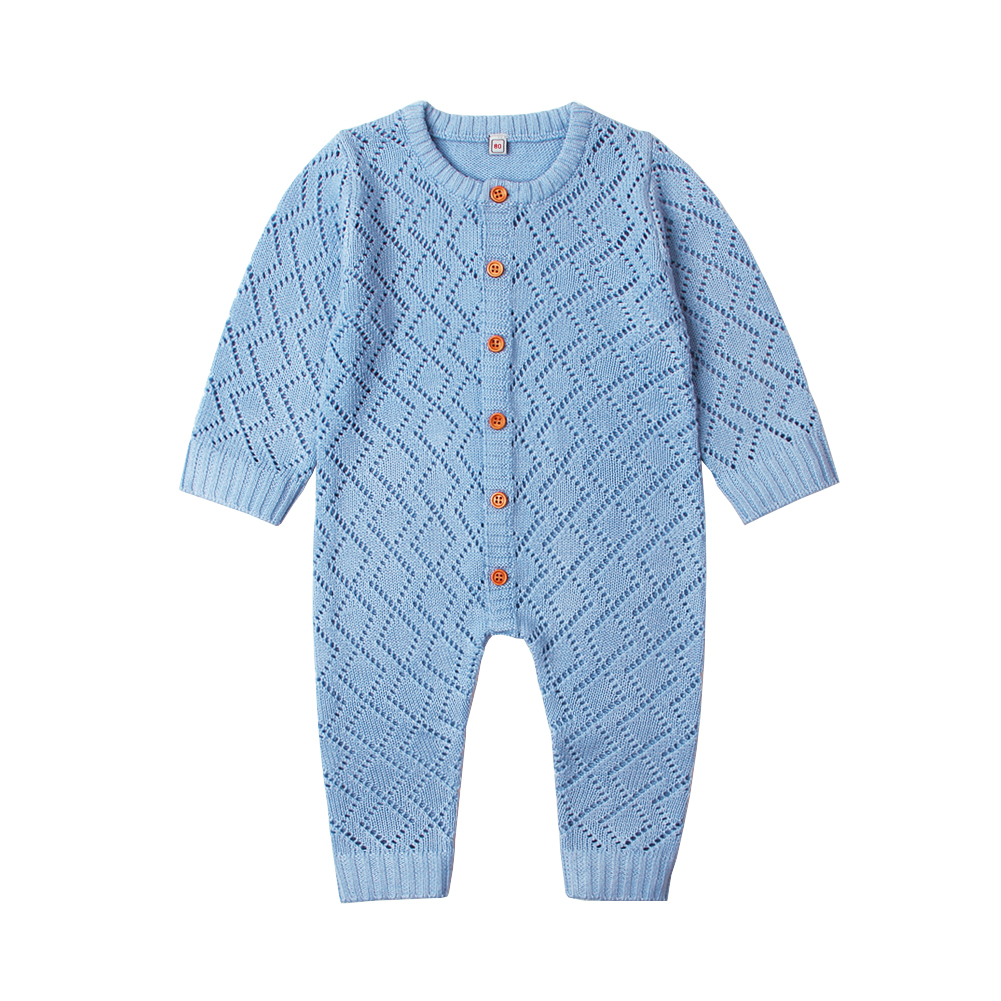 Baby Boys Girls Rompers Long Sleeve Knitting Pattern Overalls For Newborns Jumpsuits One Piece Autumn Toddler Infant Clothes 0-2 オフショル 水着 花 柄