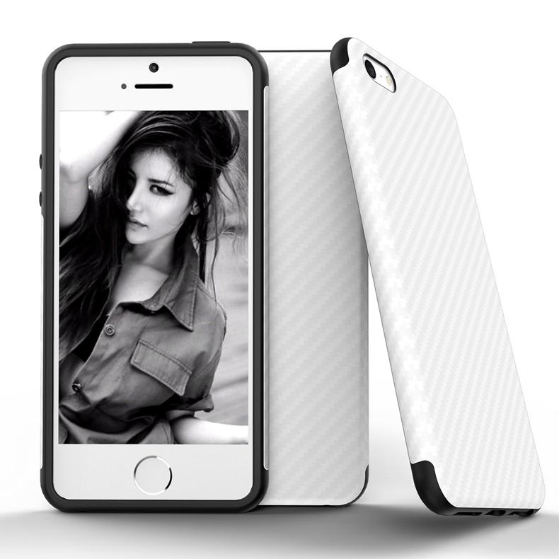 Najnowszy środowiska carbon fiber case dla iphone 6 6s plus miękkie antypoślizgowa anti-puk pokrywy dla iphone 7/plus skóra skóra torba 9