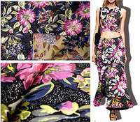 Quality 150*100cm Spring &Autumn fashion patchwork fabric,Satin flower cloth,traditional brocade fabric,jacquard brocade fabrics