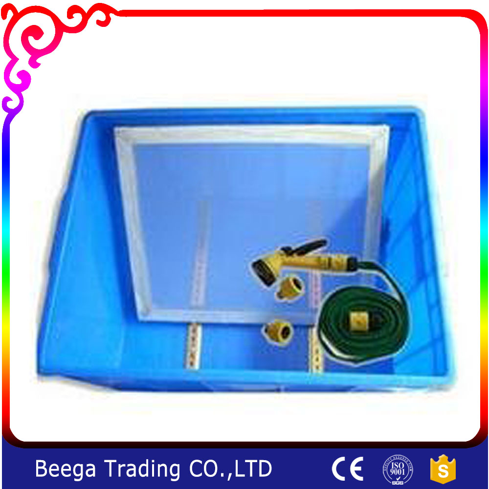 SPE-CB Plate Washing Tank with air gun for screen printing for hisense led40k16x3d booster plate ssl400 3e2a screen with lta400hl10 is used