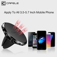 Cafele 3 типа магнитный держатель мобильного телефона автомобиля Стенд Универсальный для iPhone 6 Samsung S8 Huawei Xiaomi GPS вентиляционное отверстие Держатель