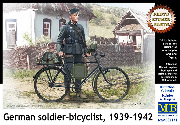1/35 German Soldiers Riding Bikes 1939 1942 35171
