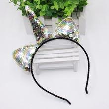 Girl's Glittering Sequin Unicorn Hairband