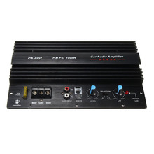 12V 1000W Amplifier Board Mono Car Audio Power Amplifier Powerful Bass Subwoofers Amp for Car Modification PA-80D