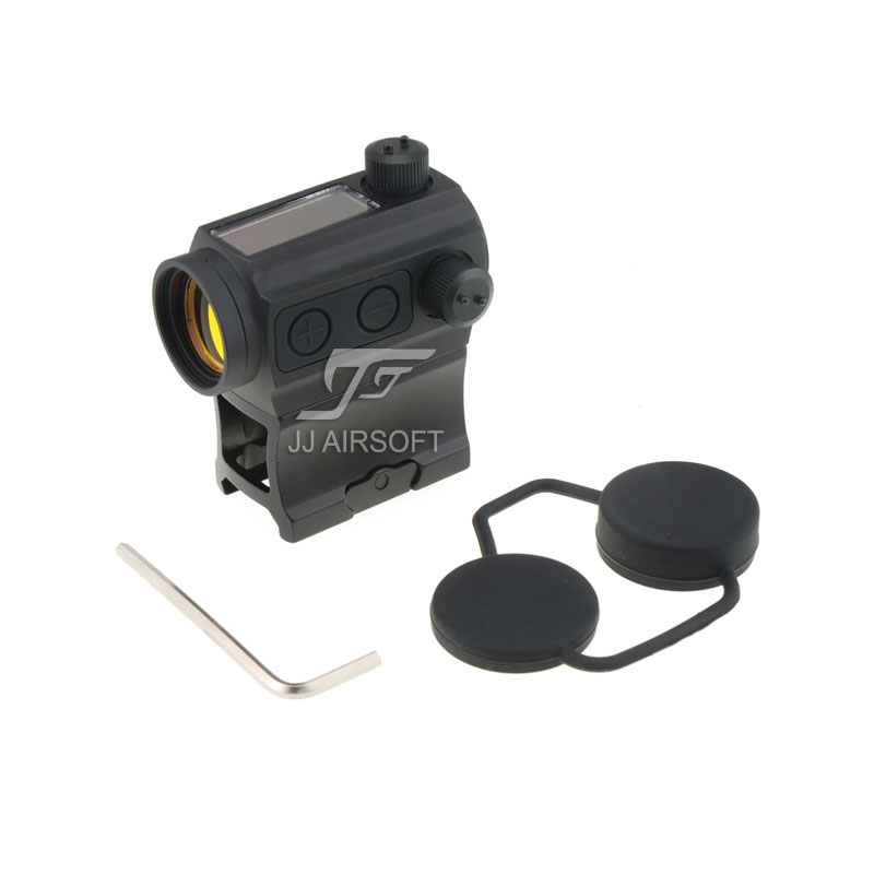 TARGET 1x24 Solar Power Red Dot with Riser Mount Black HS503C