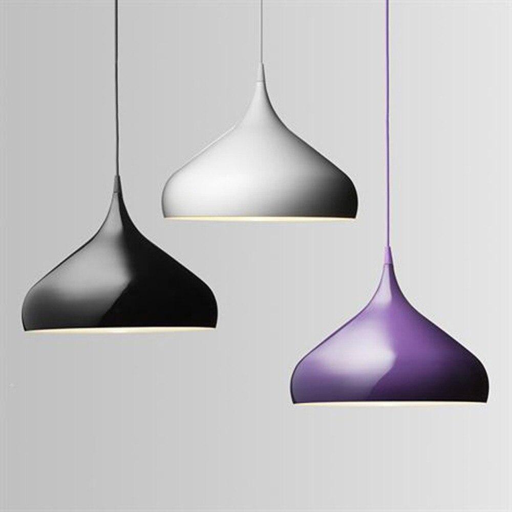 32cm lamp semicircle aluminum chandeliers restaurant droplight