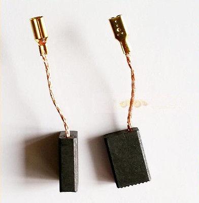 10 Pcs 15 x 10 x 5mm Electric Drill Motor Carbon Brushes 19/32 x 25/64 x 1/5