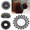 1PC Bird Nest/ Expanding Tail Hair Bun Holders Clips Grips Clamps Claw with Rhinestones Free Shipping