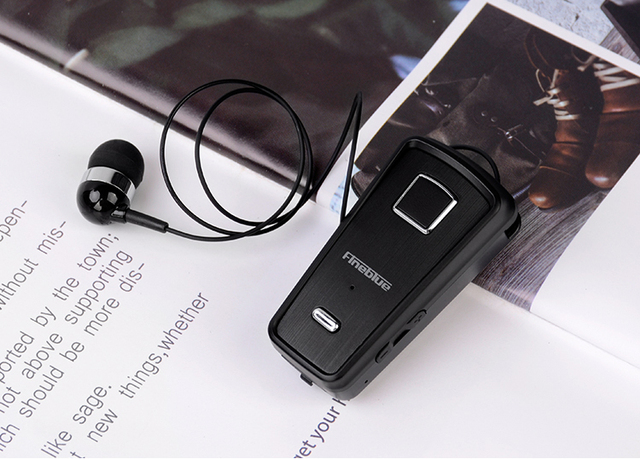 Fineblue F980 MINI Wireless In-Ear Handsfree with Microphone Headset Mini Bluetooth Earphone Vibration Support IOS Android