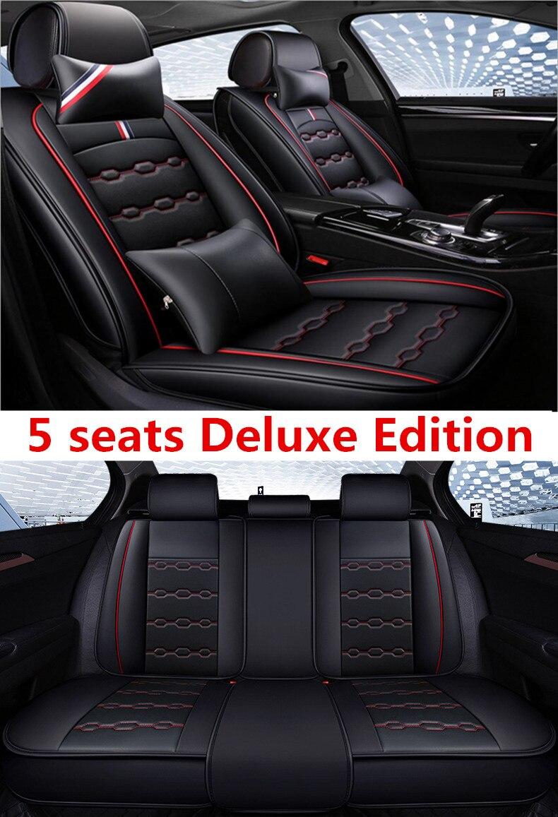 Housse de siège auto housses de siège auto pour Mitsubishi asx colt evo lution galant grandis l200 lancer 10 9 xl evo carisma montero sport - 5