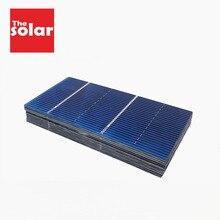 50PCS Pannello Solare 5V 6V 12V Mini Sistema Solare FAI DA TE Per La Batteria Del Telefono Cellulare Caricabatterie Portatile celle solari 78x39mm 0.5V 0.54W