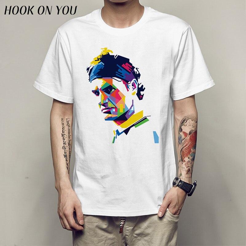 2017 New Men's colorful Roger Federer RF Art T Shirt Brand O-Neck Short Sleeves Homme Summer Hipster Swag Fitness T-Shirt
