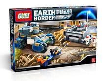 GUDI 8216 Earth Border The Core Of Defense Minifigure Building font b Block b font 321Pcs