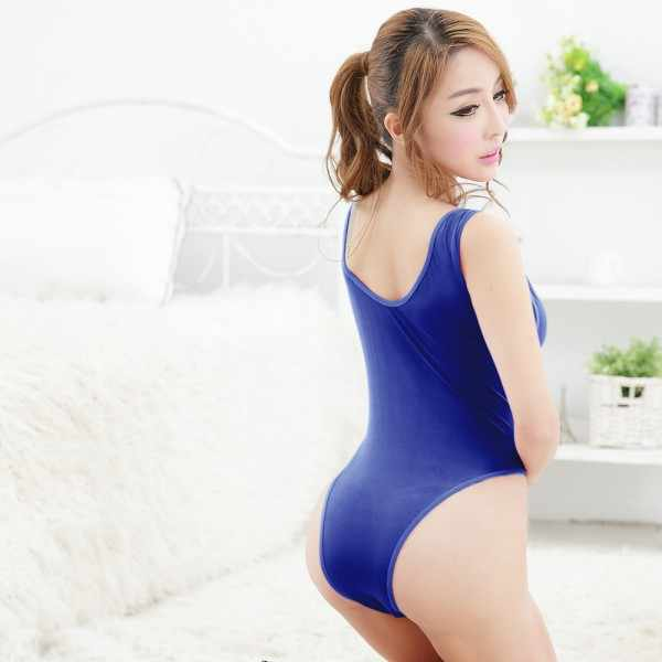 Free Size Summer Sexy Women Ladies Solid Bodysuit Swimsuit Bikini Thong Bathing Suit Swimwear
