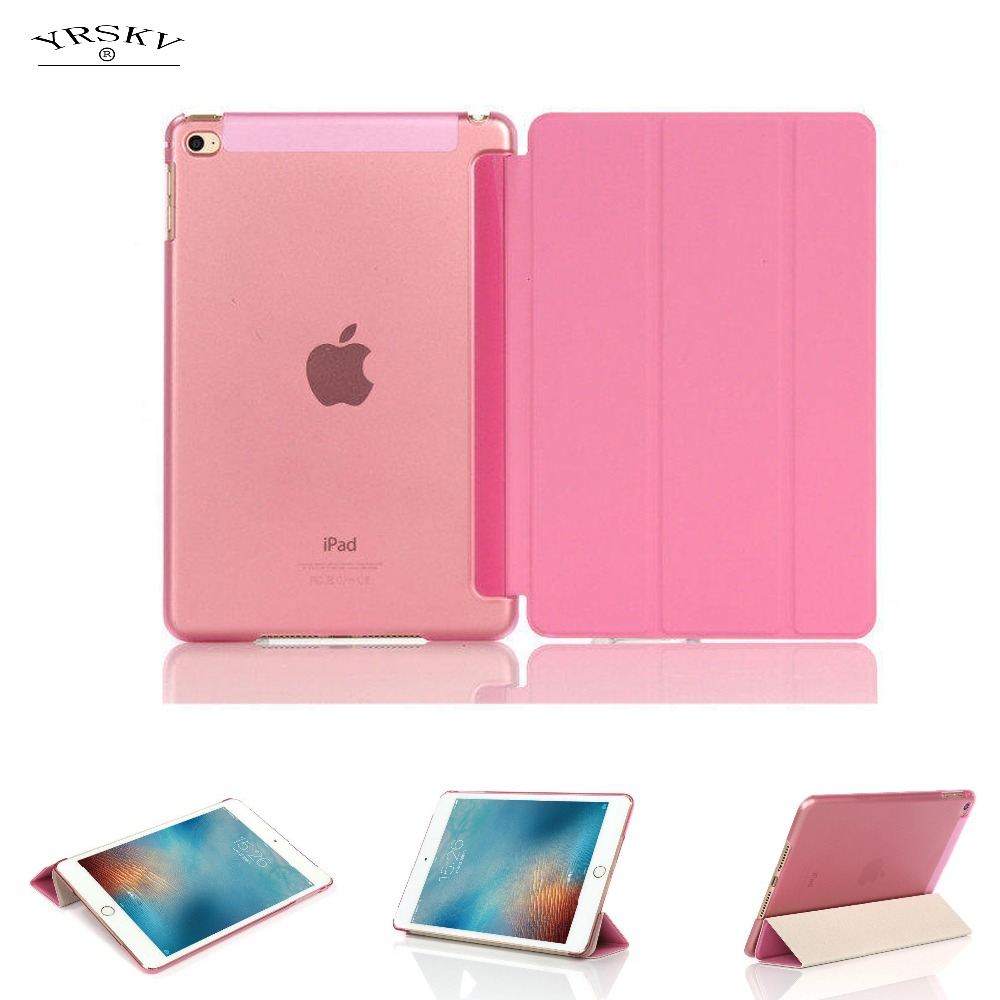 case for iPad mini 4 A1550`A1538 YRSKV magnet Smart wake up sleep cover slim smart original 1: 1 tablet leather shell