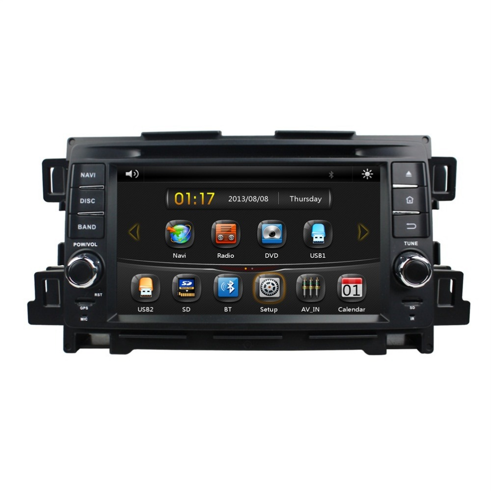 HD 2 din 7″ Car DVD GPS Navigation for Mazda CX-5 CX 5 With Radio Bluetooth IPOD TV SWC USB AUX IN Support Bose sound system