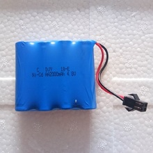 Hot 4.8VAA 2000mAh NiMH RC Batteries Rechargeable Square Rec