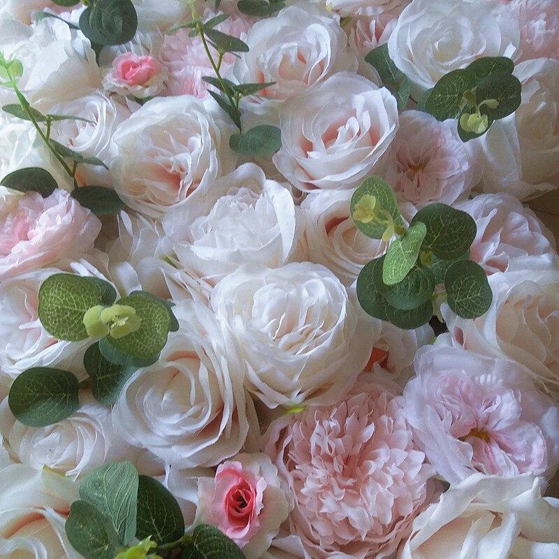 SPR haute qualité 10 pcs/lot 3D artificielle rose pivoine fleur mur mariage toile de fond fête événements artificielle arrangements de fleurs