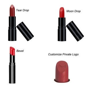 Image 2 - 1set 12 cavity lipstick mold super good quality aluminum 12.1mm 12.7mm 11mm tear drop, moon drop customize private logo