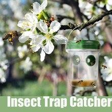 Солнечные ловушка для ОС Насекомых Catcher для пчелы желтый пиджак Hornets порхающая пчела Hornet ловушка Catcher уничтожитель насекомых и комаров