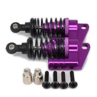 Oil 68mm Alloy Aluminum Piggyback Shock Absorber Damper For Rc Car 1/10 On Road Drift Car Hpi Hsp Traxxas Losi Axial Tamiya
