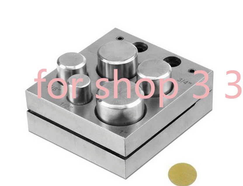 Disc Cutter Circle 5/7 Jewelry Punches Holes High-density Steel Round Set Jewelry Making Metal Cutting Forming Pendant