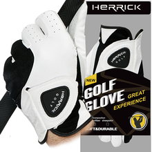 NEW golf glove men genuine leather Breathable Skidproof  outdoor sports Golf gloves free shipping все цены
