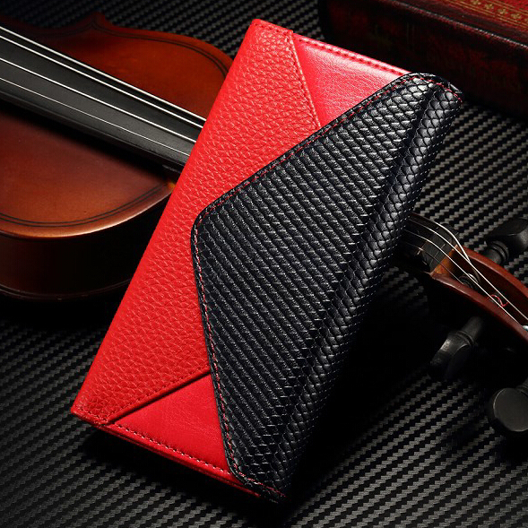 Luxury Envelope Flip Wallet Leather Case Magnetic Card Stand Cover For iphone 5 5S SE 6 6S 7 Plus Samsung S6 S7 edge Note5 LG G4