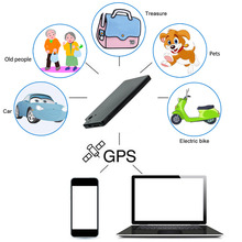 Black Bike Anti-Lost Device GPS Tracker Anti-theft Car GPS Supplies Google Link Real Time Tracking Equipment GSM Alarm Locator professional car gps tracker tracker gps locator gsm gprs real time tracking anti theft device protect privacy with 4p 2p cable