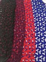 Fabrik großhandel preis mode neue sapphire Französisch spitze, African samt spitze, hochzeitskleid stoff