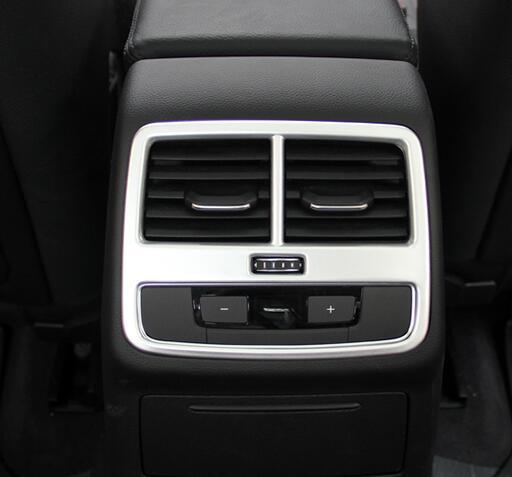 ABS Chrome For Audi A4 b9 2016 2017 Accessories font b Car b font Back Rear