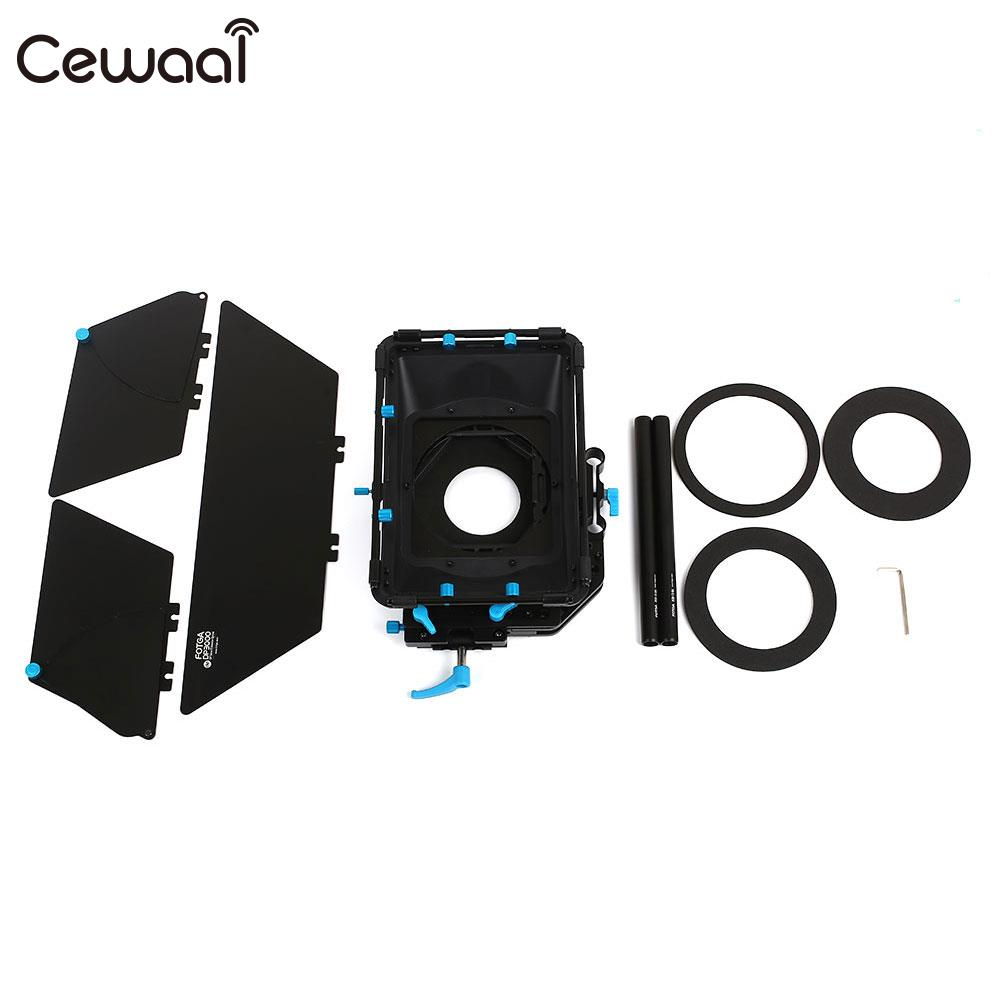 Camera Hood Camera Box FOTGA Matte Box Effective Accessories Sunshade Rail Photography for FOTGA