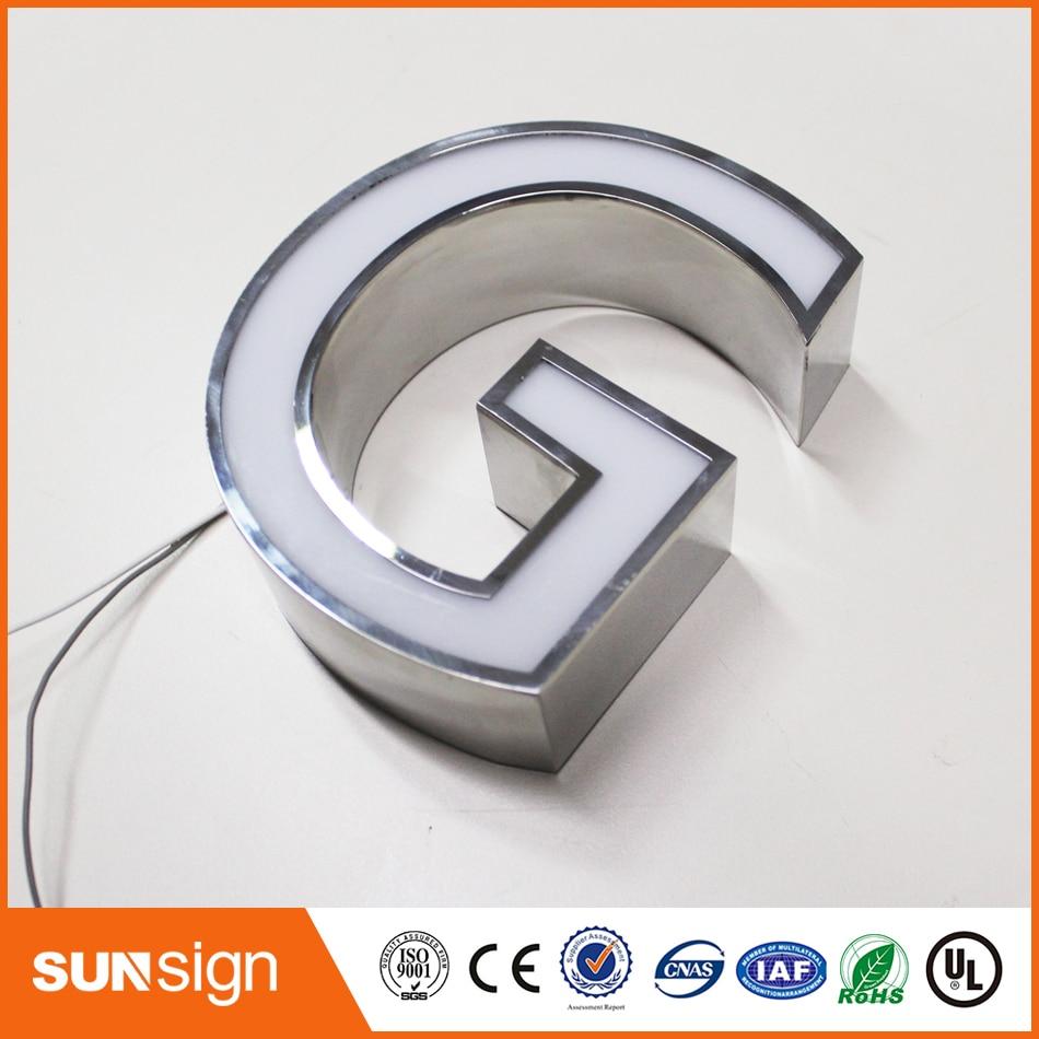 Aliexpress Online Trim Cap Sign Custom 3d Signs