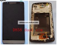 Highbirdfly For Lg G3 Dual SIm D858 D856 Lcd Display WIth Touch Screen DIgitizer With Frame