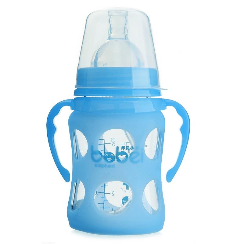 Angemessen Breiten Mund Baby Infant Kinder Automatische Pipette Stroh Schnullersauger Milchflasche Anti-slip Cover-design Fj88 Neueste Mode Fütterung