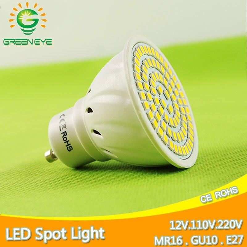 MR16 E27 GU10 Bombillas LED Bulb 220V/110V AC 4W 6W 8W SMD 2835/5730 LED Spotlight Bulb Spot Light Ampoule Lampara Lampada GU5.3