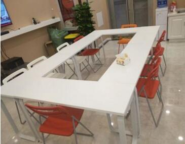 Купить с кэшбэком free shipping Modern table for staff training. Long tables.