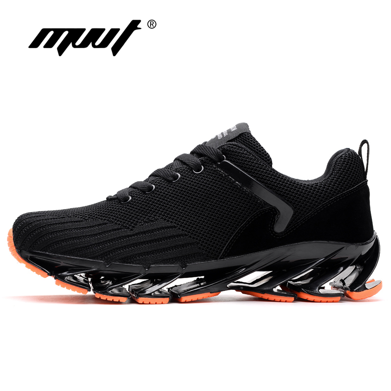 2018 Summer Men Running Shoes Breathable Men Sneakers Bounce Mesh Summer Shoes Outdoor Athletic shoes Blade sole Training shoes ...