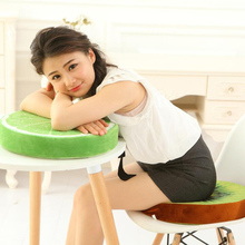 Simulation 3D Fruit Plush Pillow Cushion Cartoon Creative Sofa Home Removable And Washable Dual-Use Toys