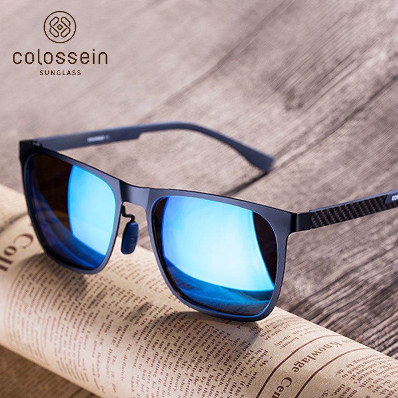 89316ad5ec2e COLOSSEIN Κλασικά γυαλιά ηλίου Ανδρικά υπερμεγέθη πολωμένα για ...