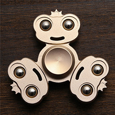 Alloy fidget spinner Rainbow Color Lasting rotation Fine craft Low