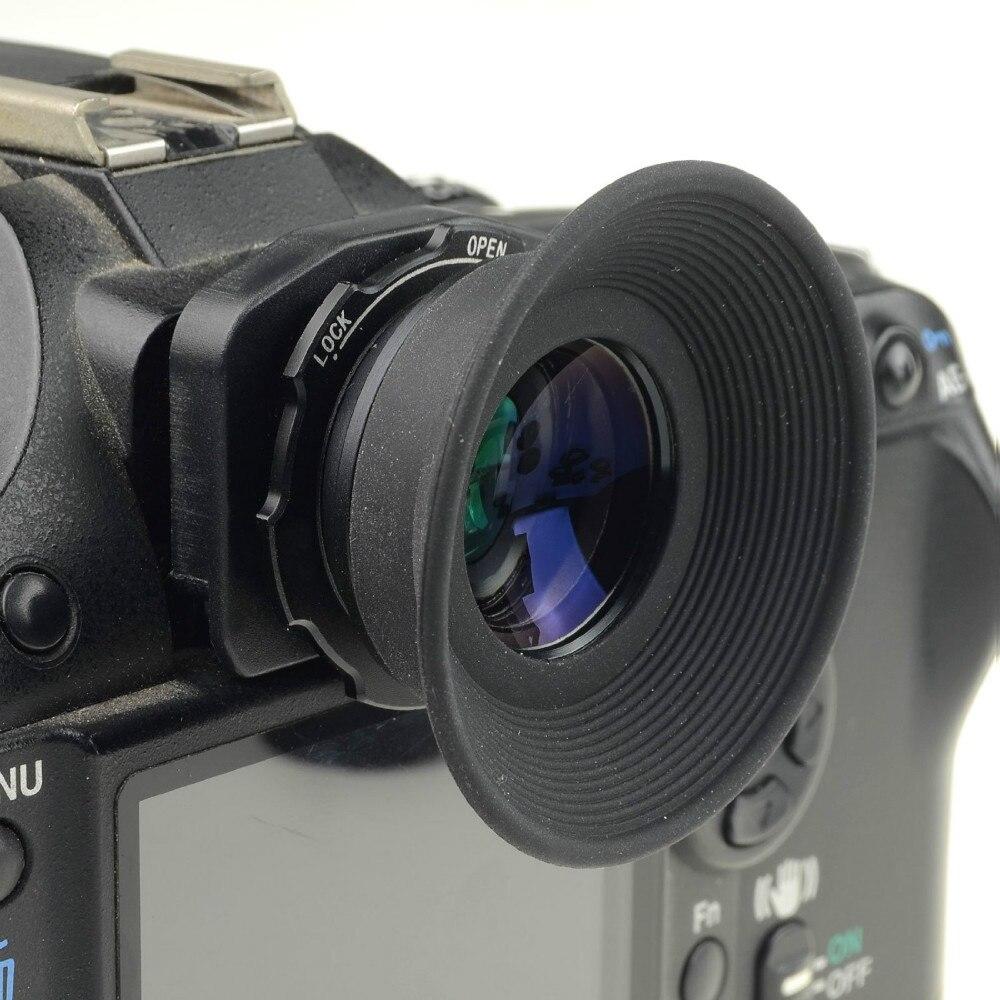 Mcoplus 1.08x-1.60x Zoom Sucher Okular Lupe für Nikon D7100 D7000 D5200 D800 D750 D600 D3100 D5000 D300 d90